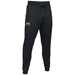 Keep your team comfortable while working from home with custom Under Armour mens pants and joggers