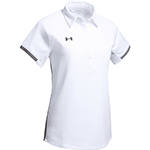 Add your company logo to custom Under Armour polo shirts for women for a classic corporate gift
