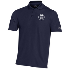 Under Armour Corporate Men's Midnight Navy Performance Polo