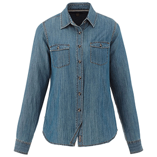 Custom Casual Denim Shirts for Women