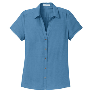 Custom Short Sleeve Casual Shirts for Women