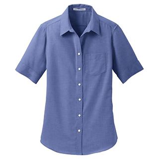 Custom Short Sleeve Dress Shirts for Women