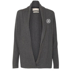 Weatherproof Women's Charcoal Heather Cotton Cashmere Cardigan