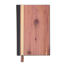 Woodchuck USA Cedar Classic Journal with Blank Pages