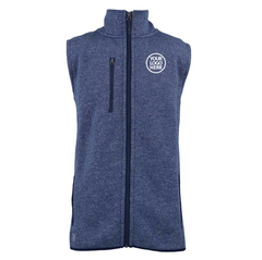 Zusa Men's True Navy Heather Midtown Fleece Vest