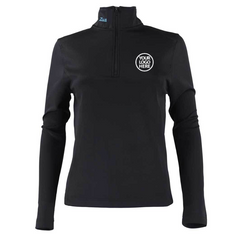 Zusa Women's Black Influencer Quarter Zip