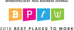 Minneapolis St. Paul Business Journal Best Places to Work - 2016