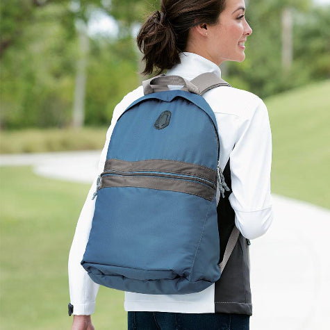 Help your team members stay organized when on the move with logo branded work backpacks and bags from Port Authority
