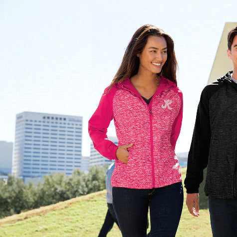 Complete your corporate gift set with custom Sport-Tek hoodies and sweatshirts for women