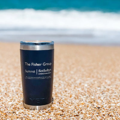 With your business logo added, custom logo branded drinkware and tumblers deliver