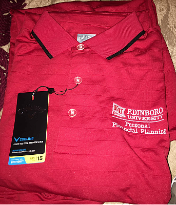 With your custom logo added, corporate polo shirts can help bring your team to the next level