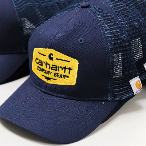 With your company logo added to custom Carhartt trucker hats and baseball caps you can promote your team