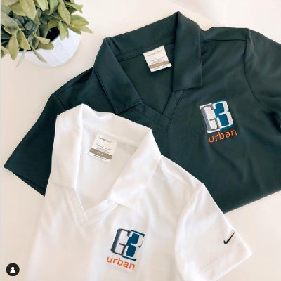 With your company logo embroidered on the front, custom logo branded Nike polos can make your team