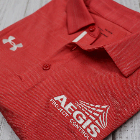Corporate Under Armour polos are in stock and available to complete your corporate gifting or event attire