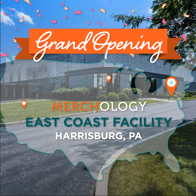 Check out the new Merchology facility in Harrisburg, PA!