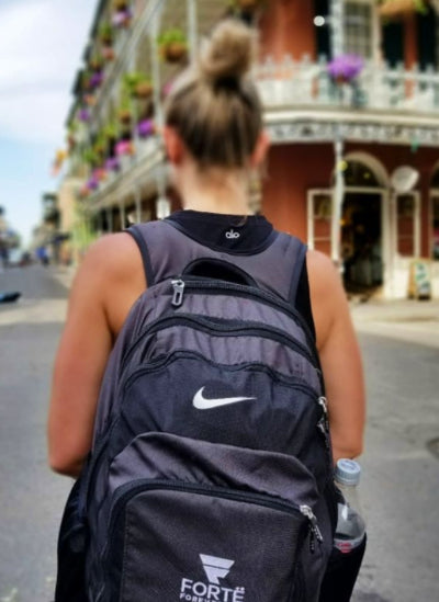 Adding your company custom logo to Nike backpacks can create bring your team to the next business level