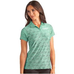 Custom Logo Women's Golf Polo Shirt