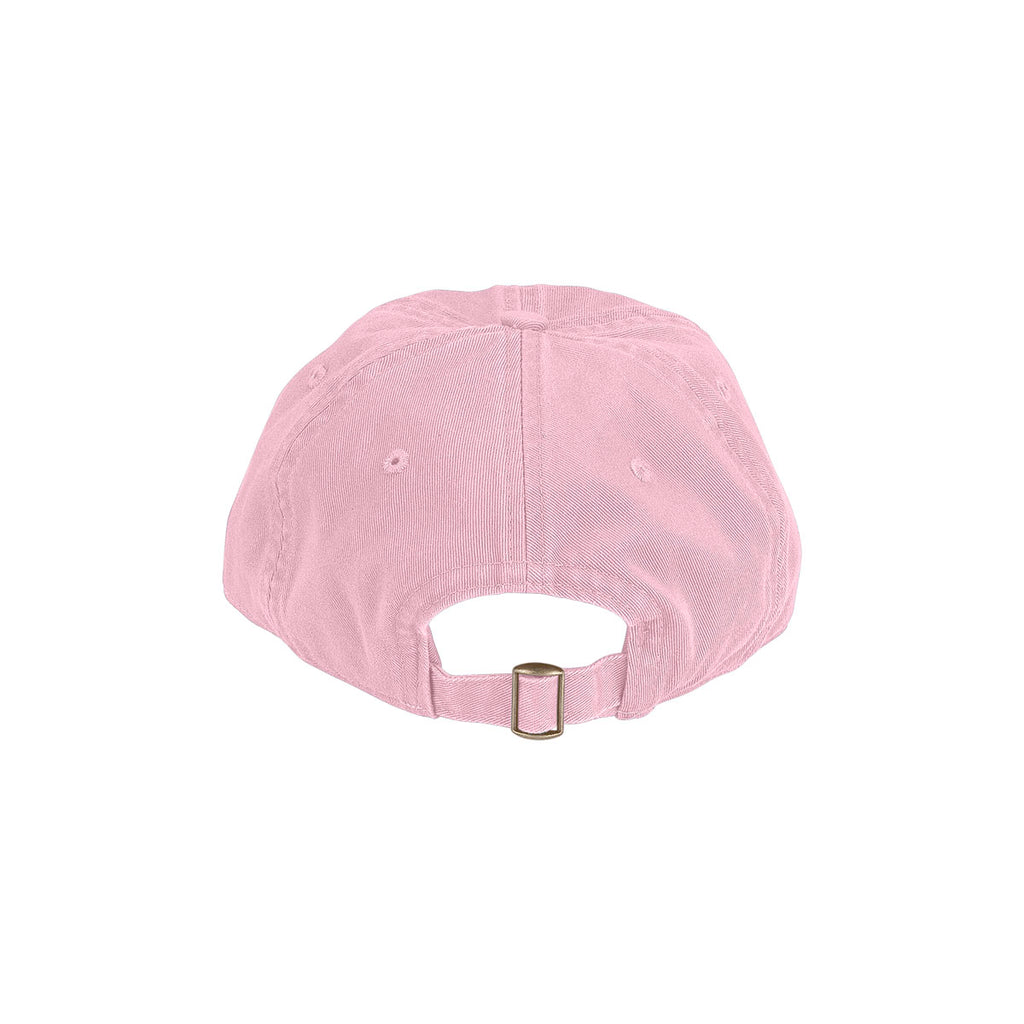 Vantage Men's Pink Clutch Bio-Washed Unconstructed Twill Cap