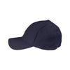 Vantage Men's Navy Clutch Solid Stretch Fitted Constructed Twill Cap
