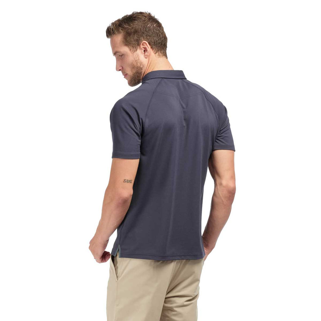 Rhone Men's Navy Delta Pique Polo
