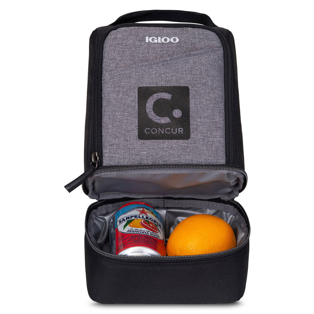 36bc8162365 As low as $12.53 USD. Igloo Black Rowan Lunch Cooler