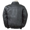 Burk's Bay Men's Black Napa Bomber Jacket