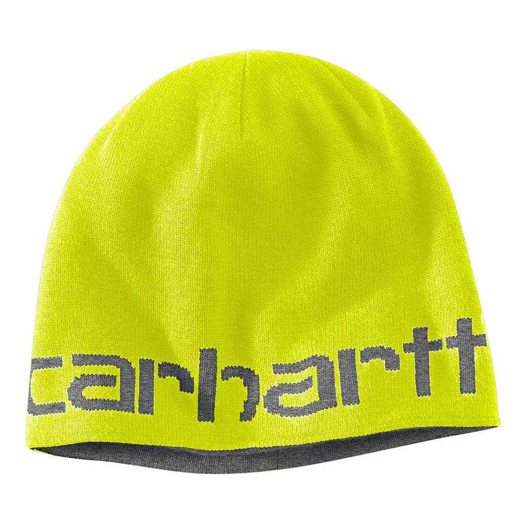 60d83289df128 Carhartt Men s Brite Lime Greenfield Reversible Hat