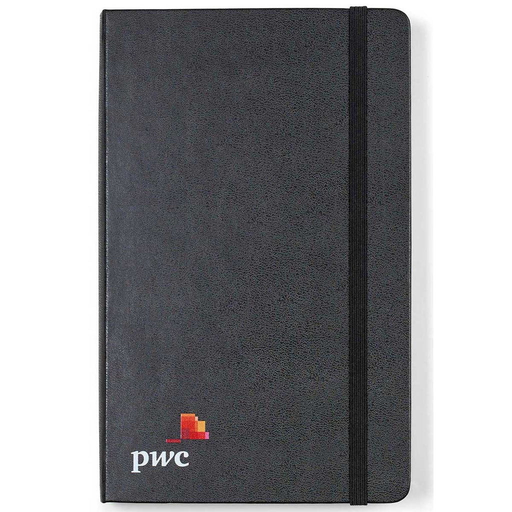Moleskine Black Hard Cover Ruled Large Expanded Notebook