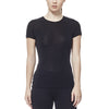 Icebreaker Women's Black Oasis Short Sleeve Crew