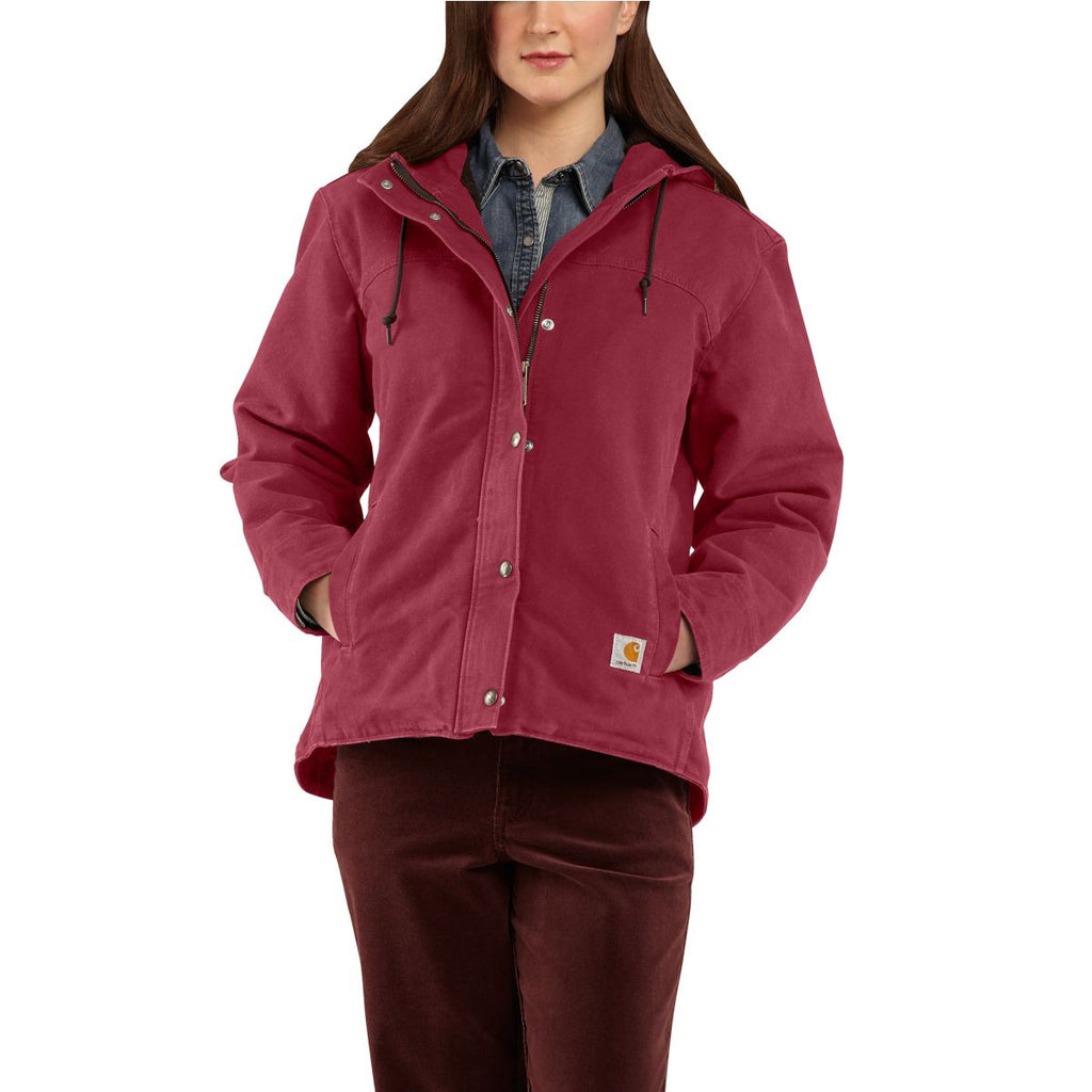 Carhartt Women's Raspberry Sandstone Berkley Jacket