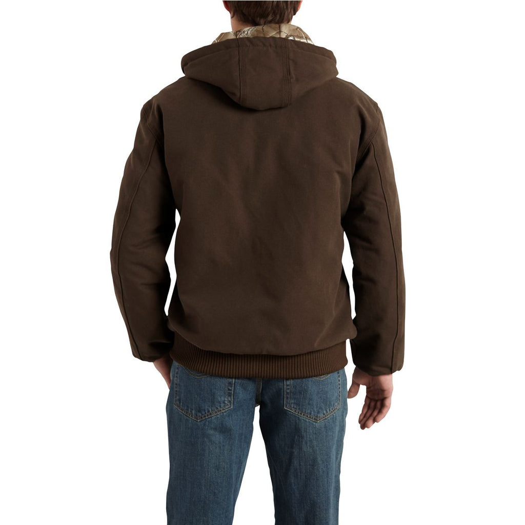 Carhartt Men's Dark Brown Huntsman Active Jacket