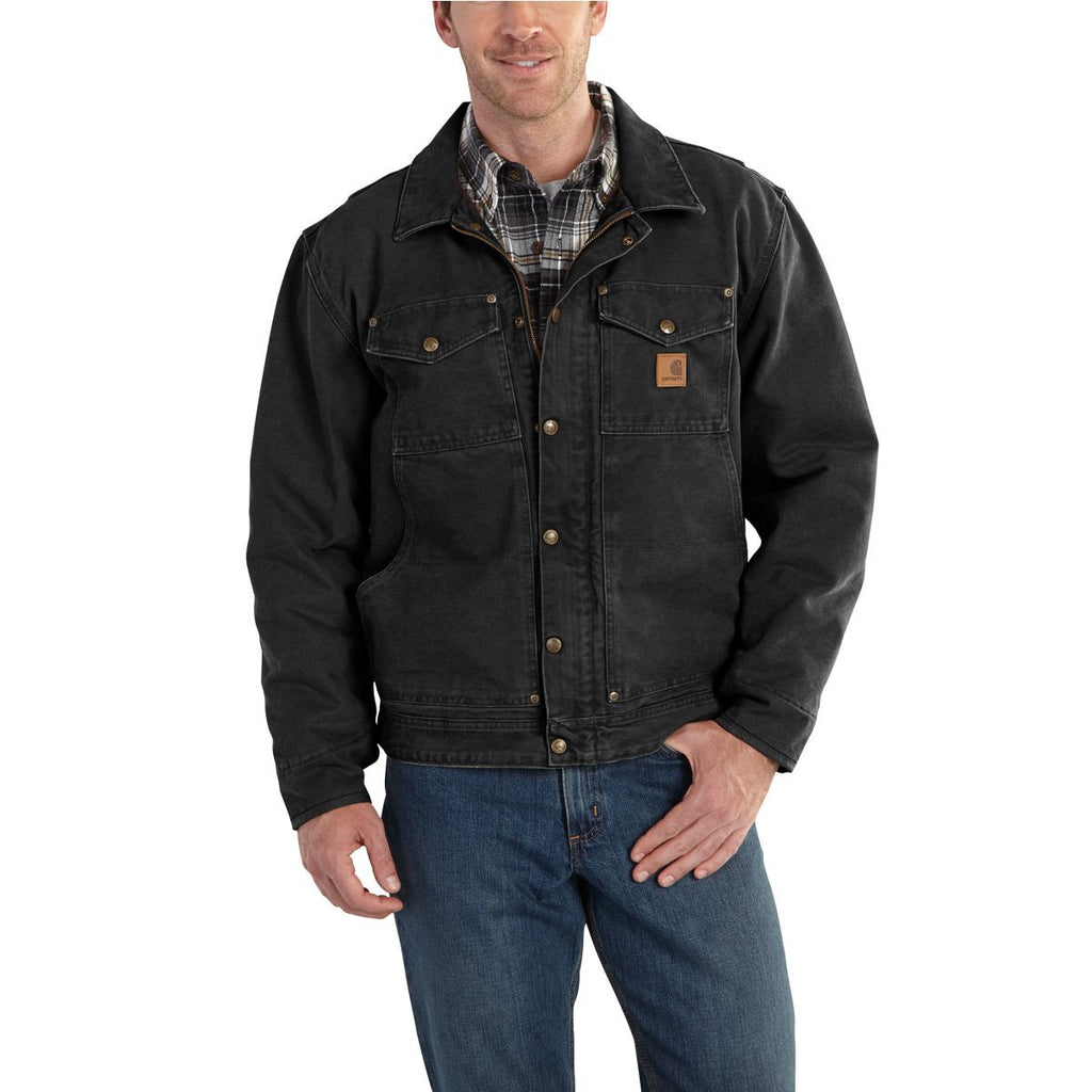 Carhartt Men's Black Berwick Jacket