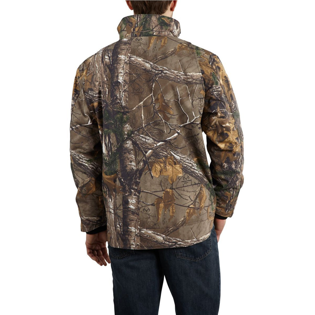 Carhartt Men's Realtree Xtra Quick Duck Camo Traditional Jacket
