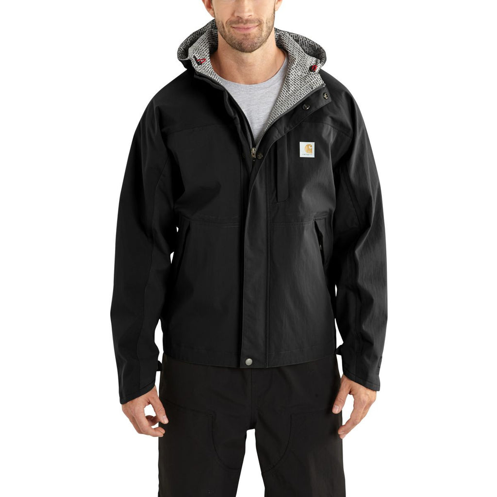 Carhartt Men's Black Shoreline Vapor Jacket