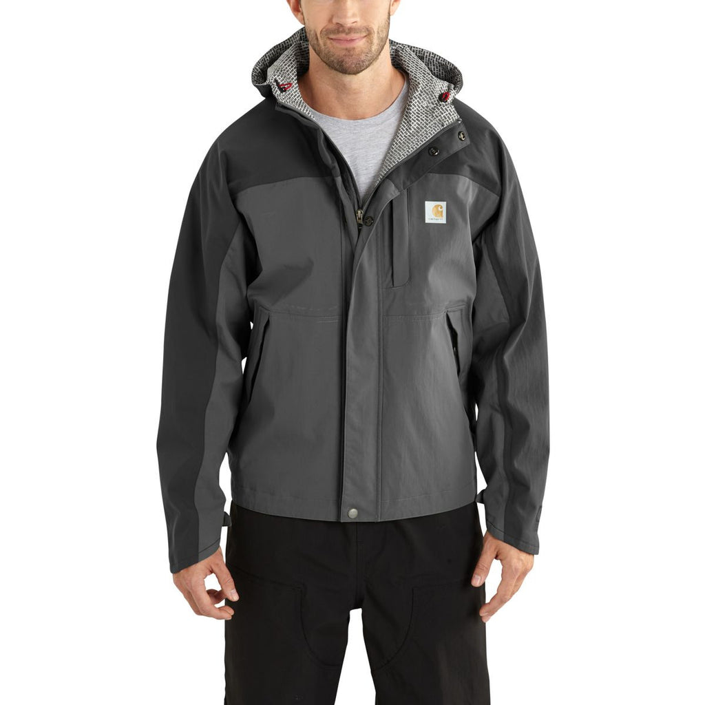 Carhartt Men's Charcoal/Shadow Shoreline Vapor Jacket