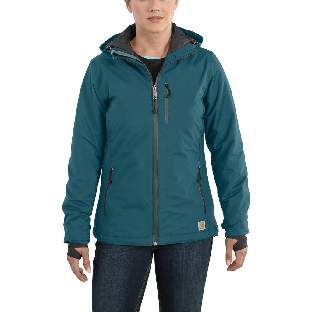 Carhartt Women's Teal Blue Elmira Jacket