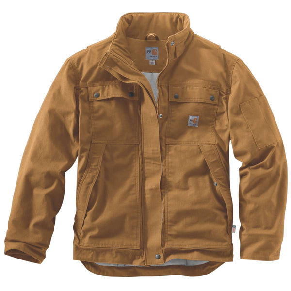 Carhartt Men S Carhartt Brown Fr Full Swing Quick Duck Coat