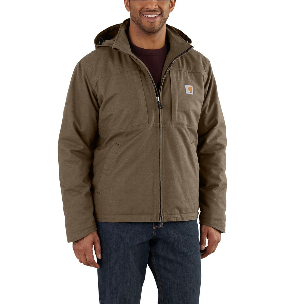 Carhartt Men's Canyon Brown Full Swing Cryder Jacket