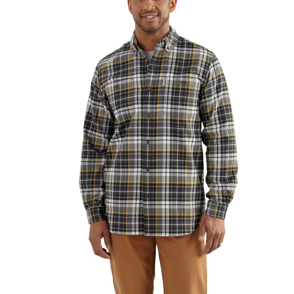 Carhartt Men's Shadow Trumbull Plaid Shirt