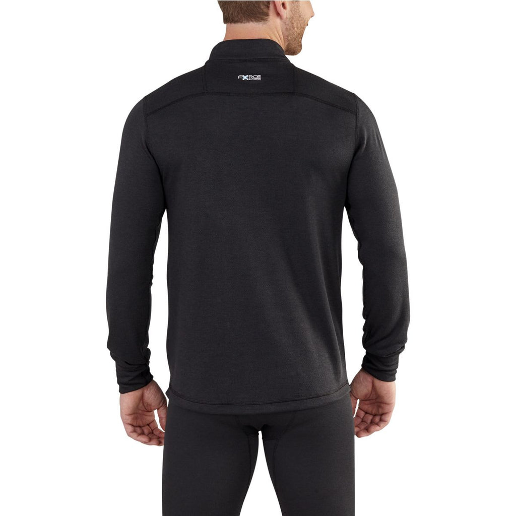 Carhartt Men's Black Base Force Extremes Cold Whether Quarter Zip