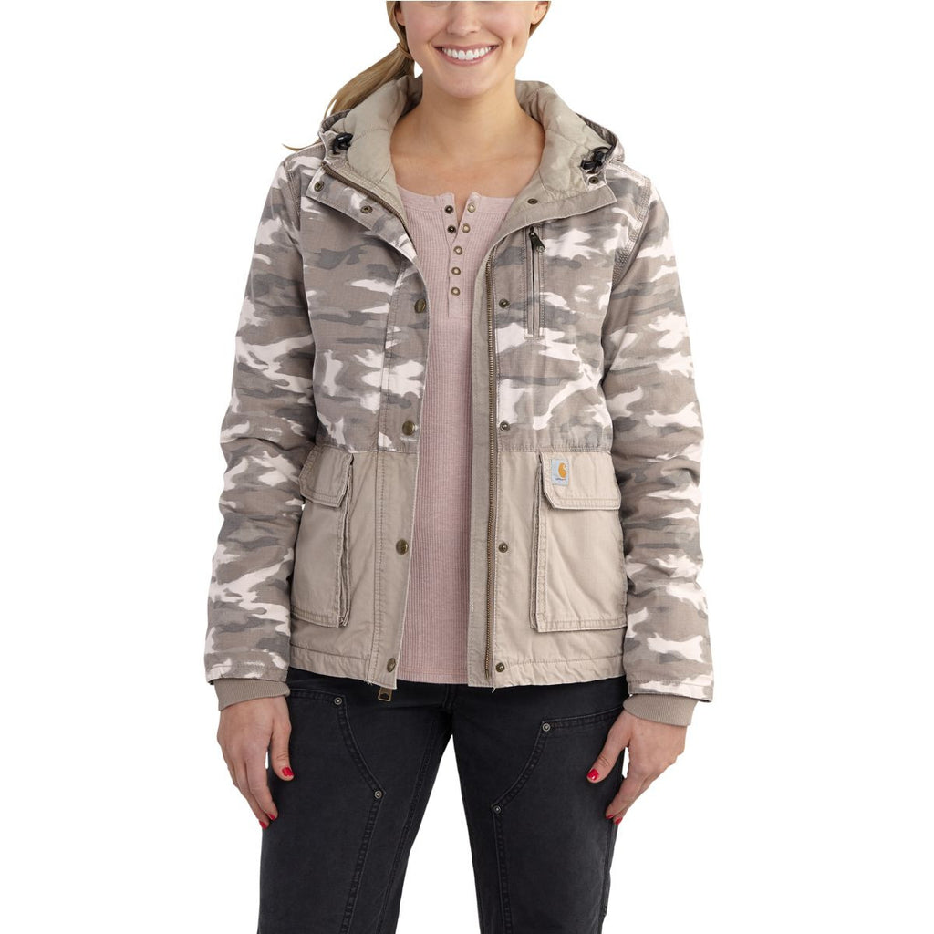 Carhartt Women's Light Shale Brown Fryeburg Jacket