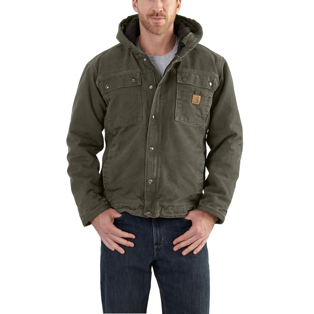 Carhartt Men's Moss Bartlett Jacket