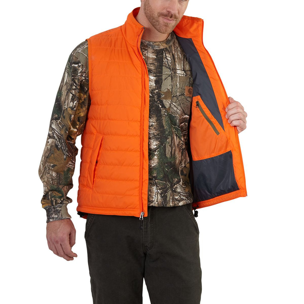 Carhartt Men's Blaze Orange Gilliam Vest