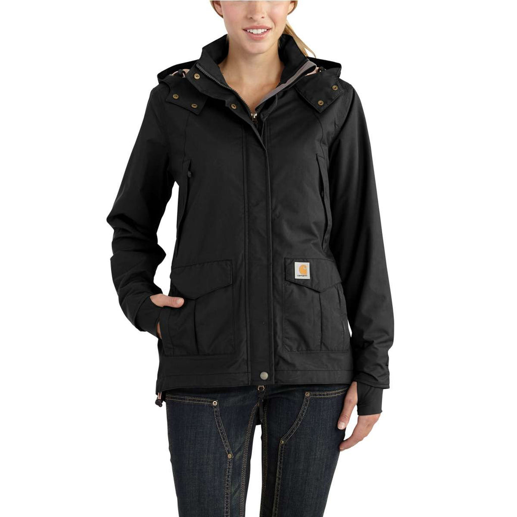 Carhartt Women's Black Shoreline Jacket