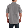 Carhartt Men's Asphalt Force Ridgefield Solid SS Shirt
