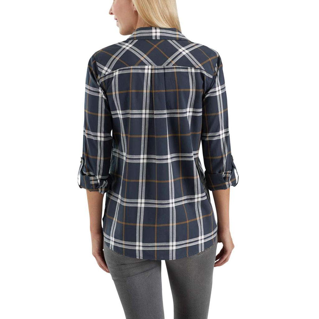 Carhartt Women's Blue Nights Fairview Plaid Shirt