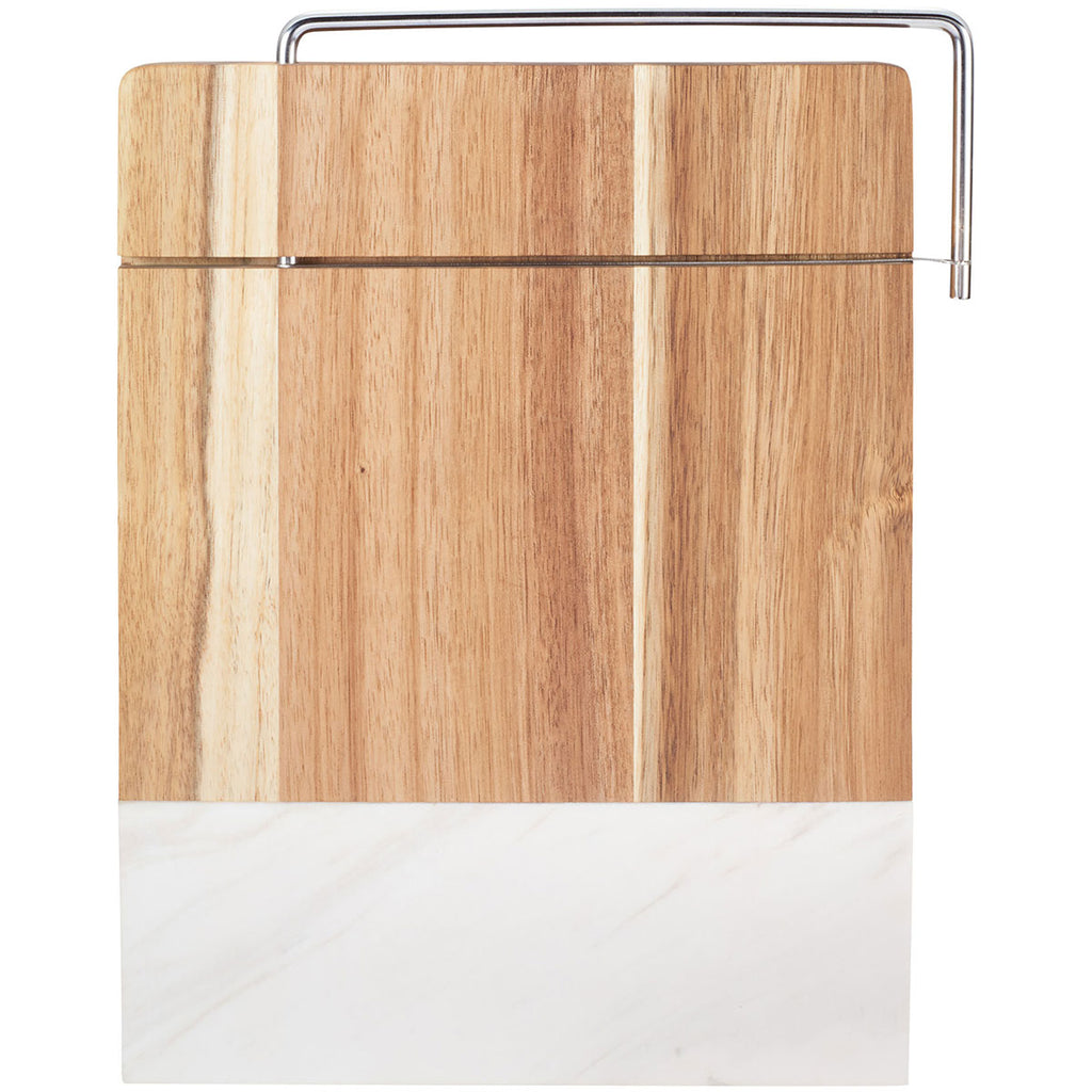 Leed S Marble Marble And Acacia Wood Cheese Cutting Board