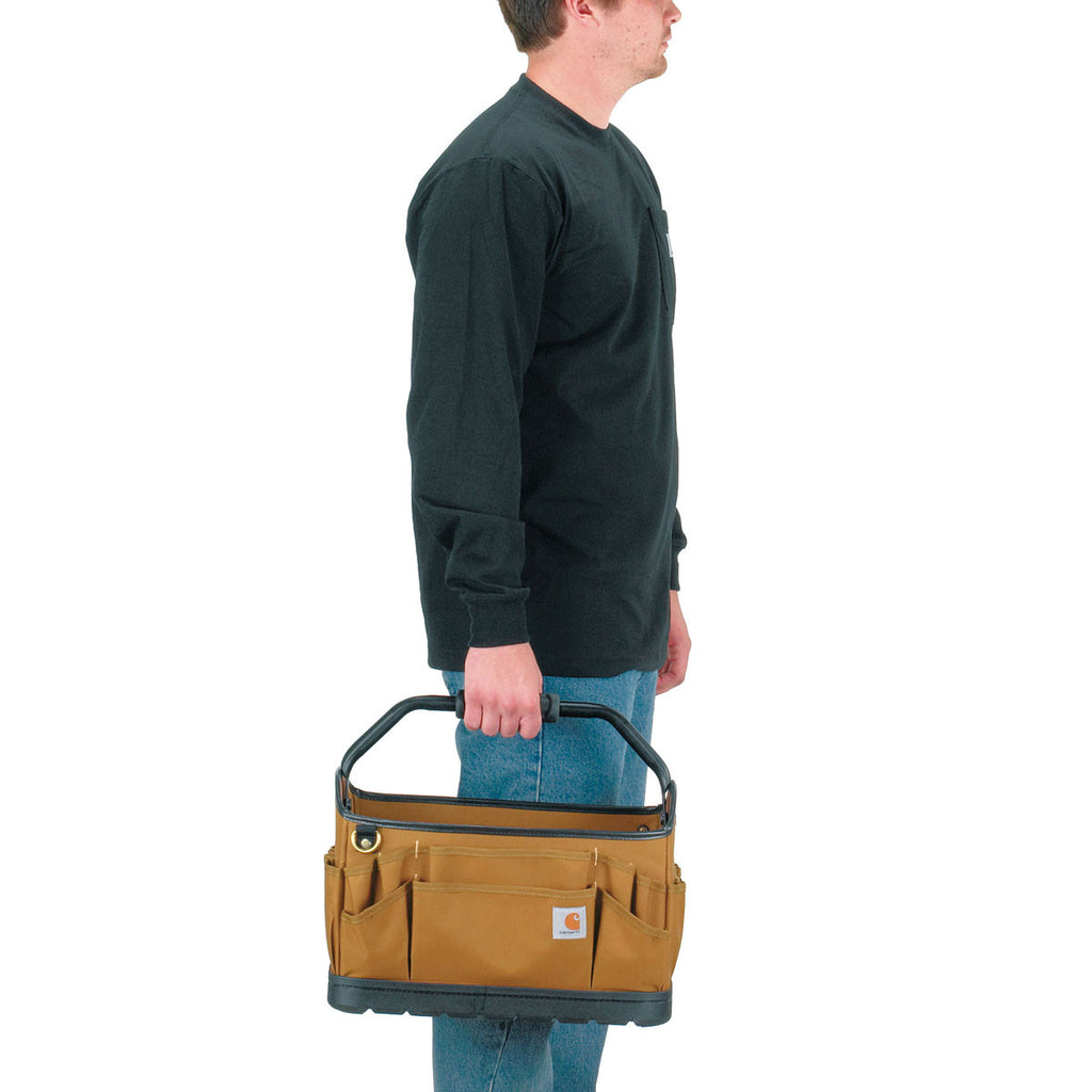 Carhartt Brown Legacy 16 Open Tool Case