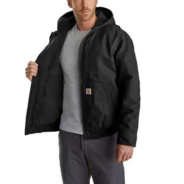 Carhartt Men's Black Full Swing Armstrong Active Jacket
