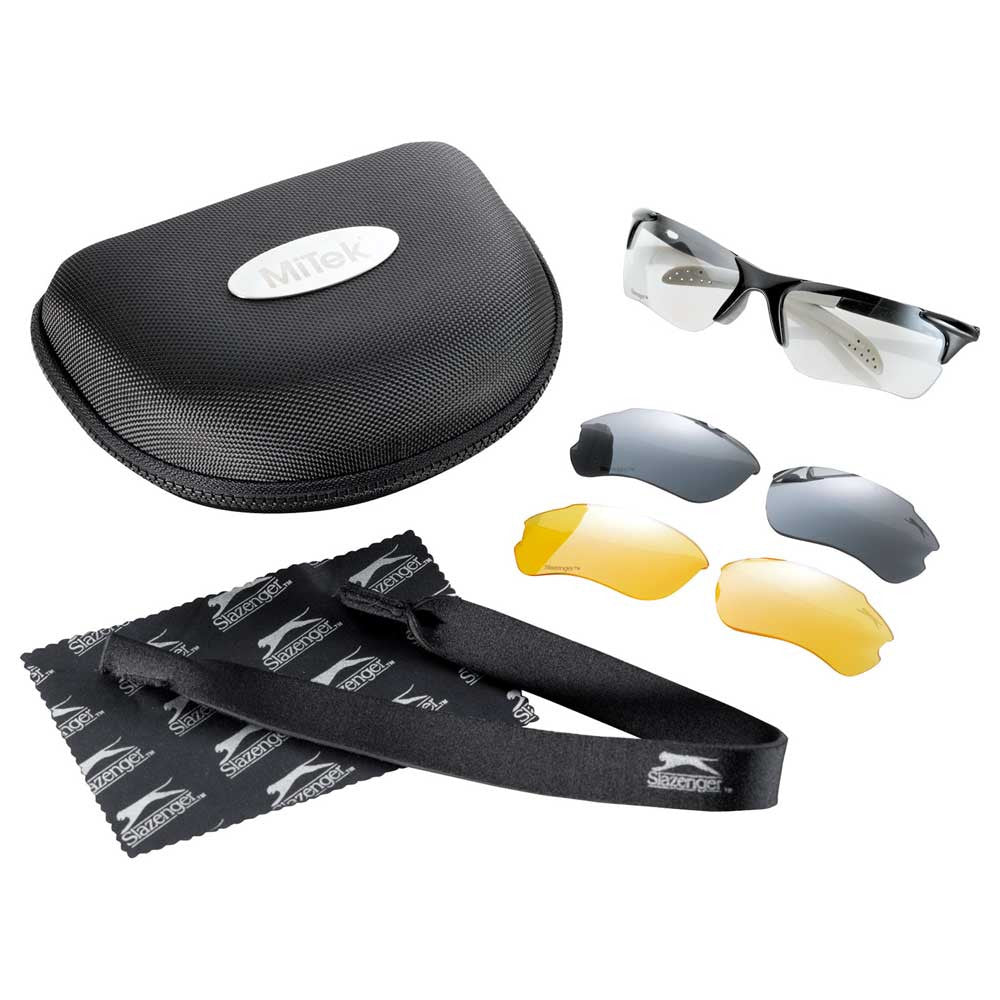 Slazenger Black Multi-Lens Sport Sunglasses
